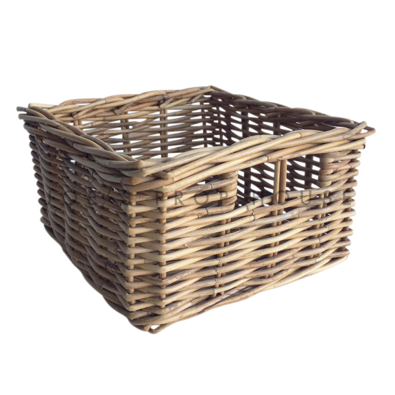 Leilah Square Wicker Basket