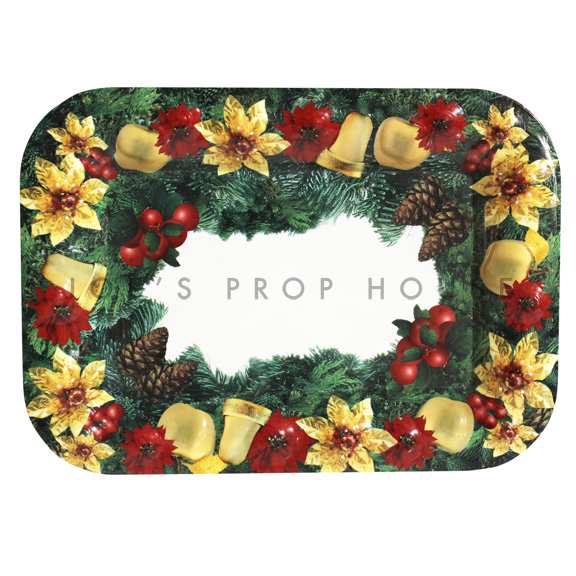 Holiday Bells Acrylic Serving Tray $4.99