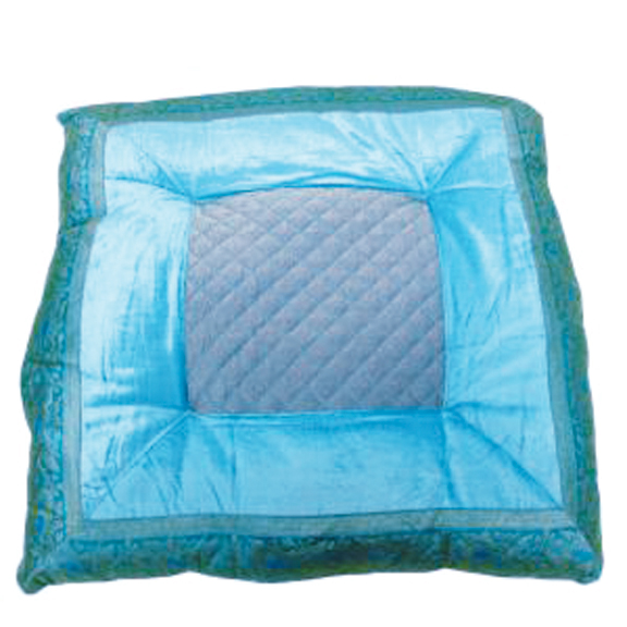 Kenza Quilt Pillow Turquoise