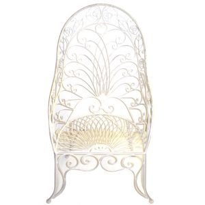 Calista Garden Chair White