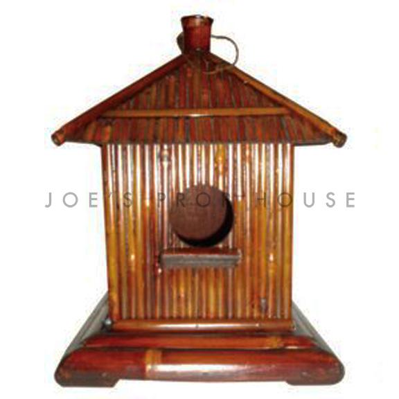 Cabana Bamboo Birdhouse