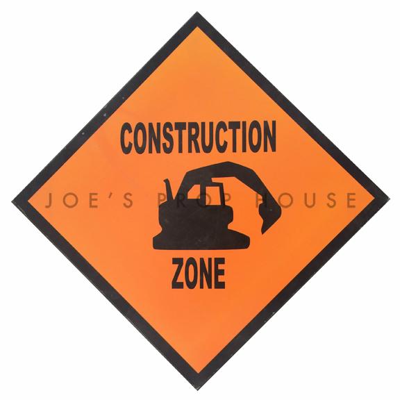 Enseigne Construction Zone