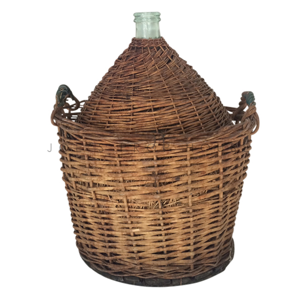 Cianti Large Full Wicker Wine Jug
