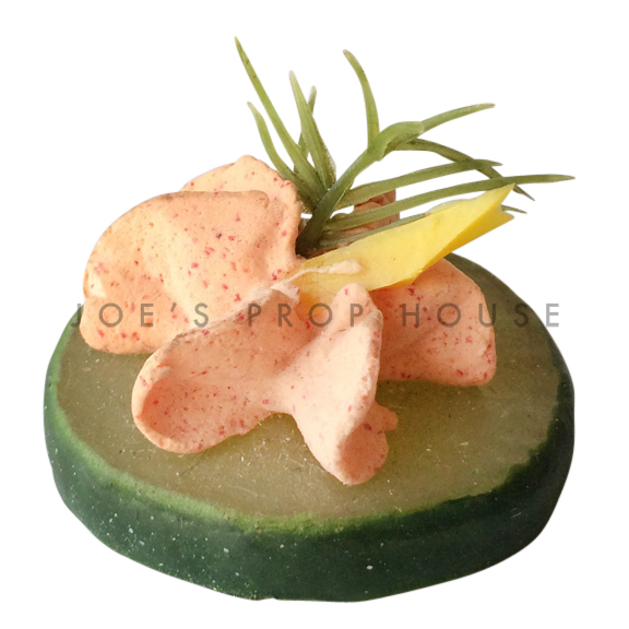 Salmon Spread Cucumber Slice Hors d'Oeuvre Food Prop