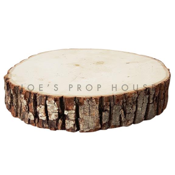 Dalle de tranche d'arbre ronde PETIT