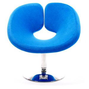 Mod Lounge Chair Blue