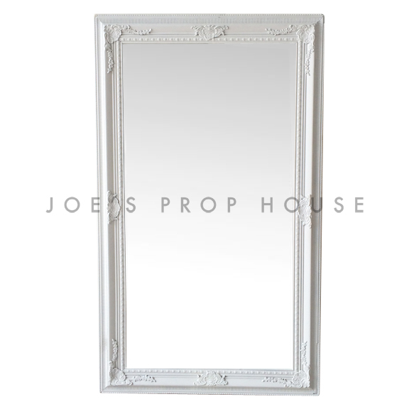 Emilia Self-Standing Mirror White