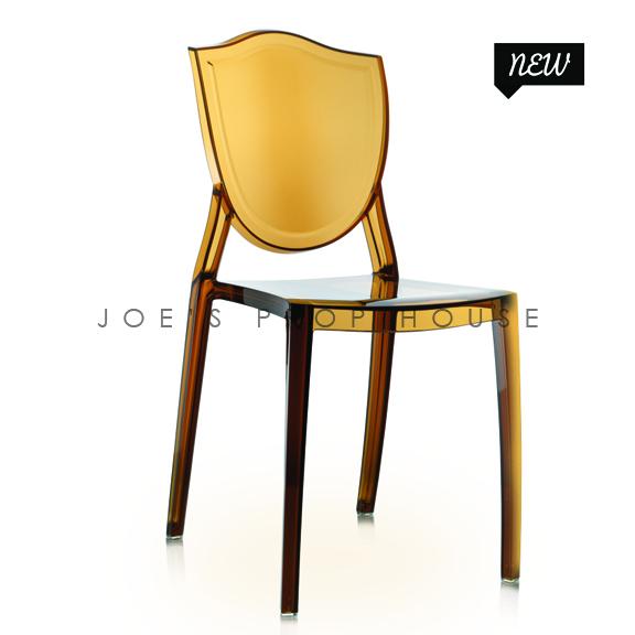 Chaise à Dîner Jules Amber