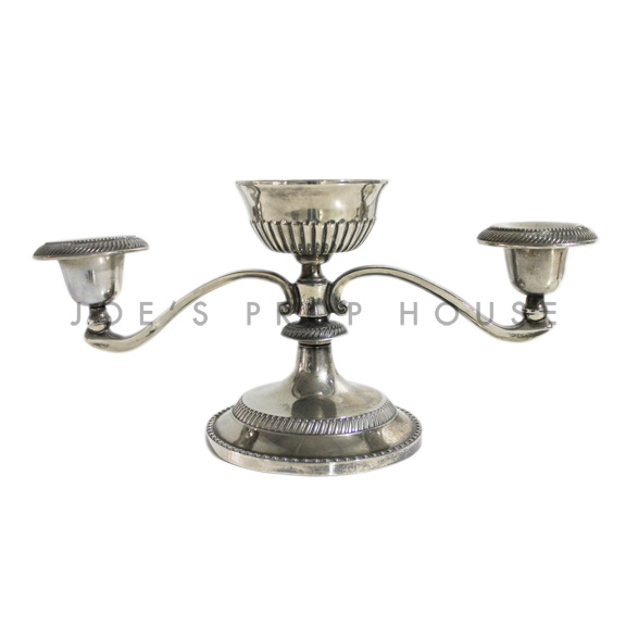 Roland Three Branch Silver Candlestick