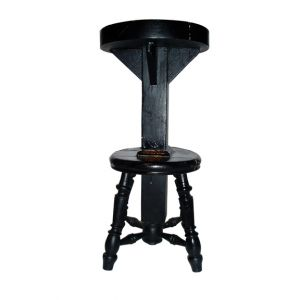 Music Stool Black