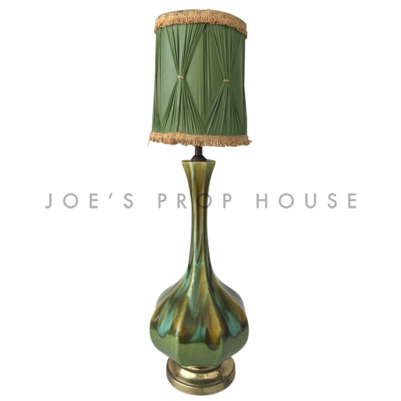 Verde Pottery Glaze Table Lamp