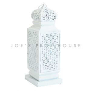 Big Taj Lantern White