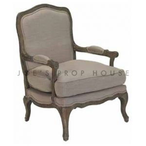 Bergere Armchair Clay