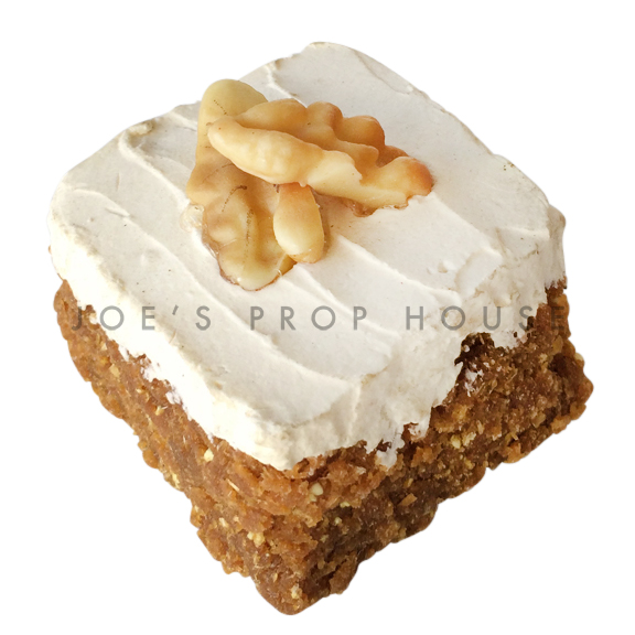 Mini Carrot Cake Square w/Buttercream Icing