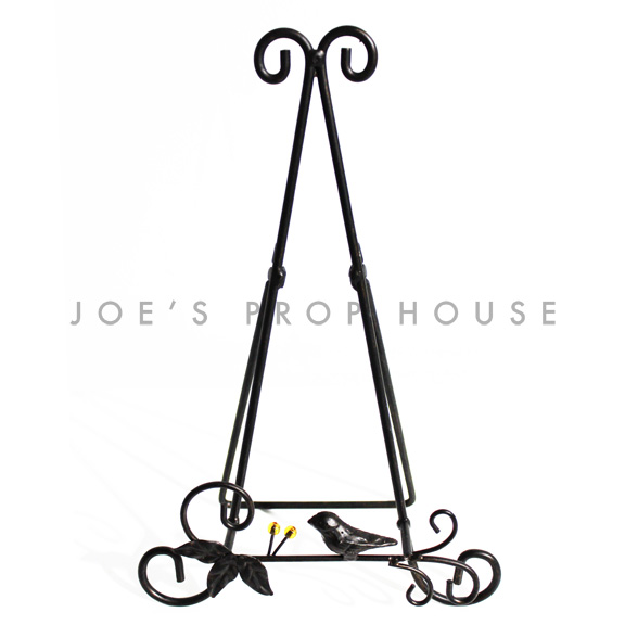 Robin Metal Easel Stand Black