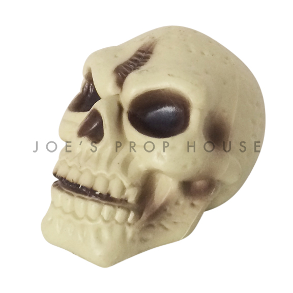 Beige Plastic Skull