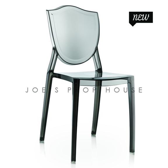 Chaise à Dîner Jules Smokey Noir