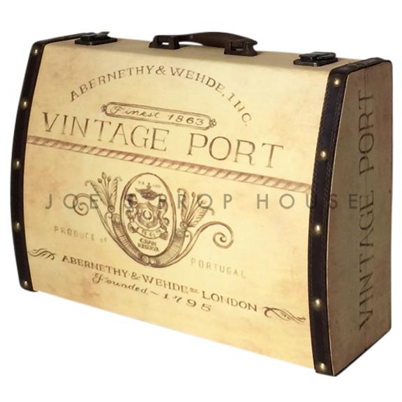 Vintage Port Hardshell Suitcase