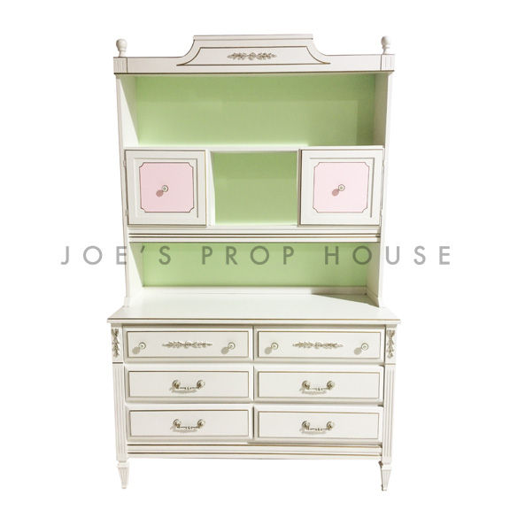 Romina Vintage Sideboard with Hutch