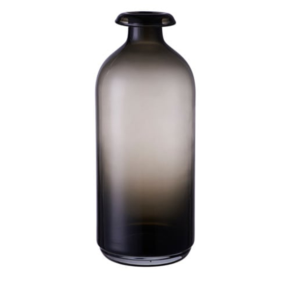 Adele Smokey Black Vase TALL