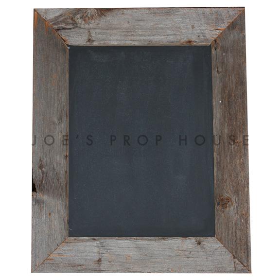 Barnwood Chalkboard Frame