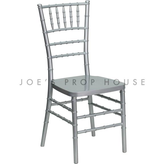 Chivari Dining Chair Silver