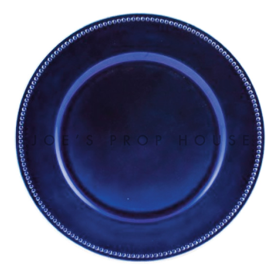 Royal Blue Charger Plate