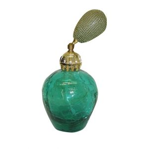 Green Perfume Atomizer Bottle
