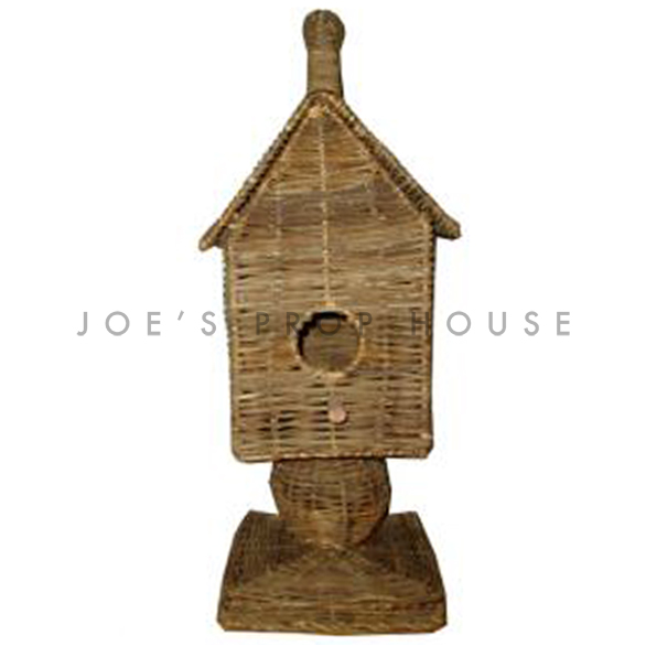 Wicker Birdhouse