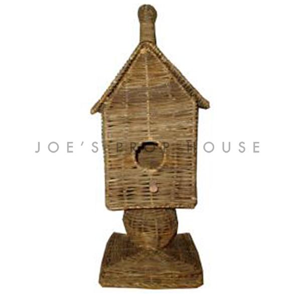 Wicker Birdhouse