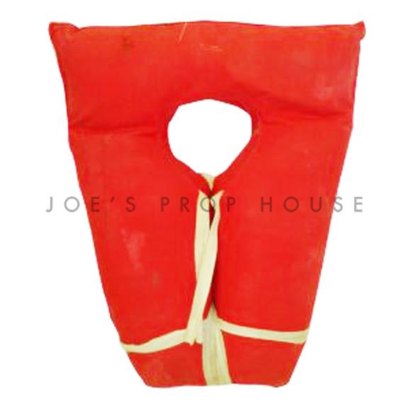 Keyhole Life Vest Red