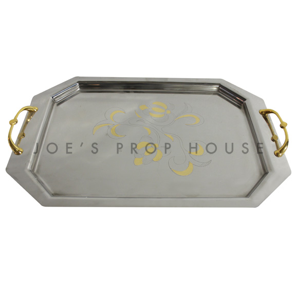 Gabriella Stainless Serving Tray $12.99