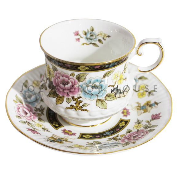 Liberty Floral Teacup and Saucer