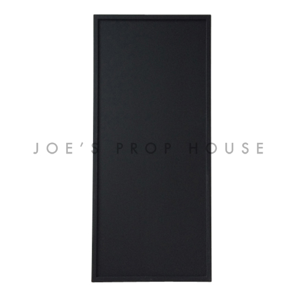 Abner Simple Black Frame Chalkboard Large