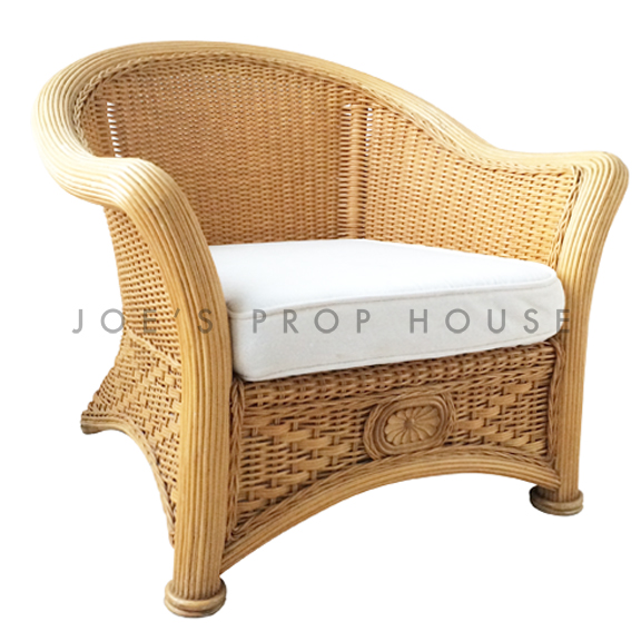 Freida Wicker Chair w/Cushion