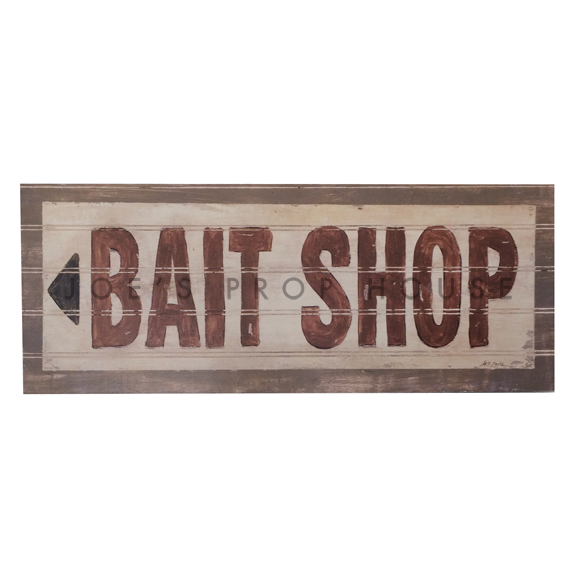 Bait Shop Sign