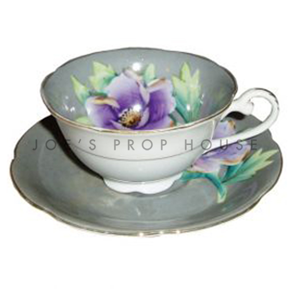 Gayle Floral Teacup and Saucer
