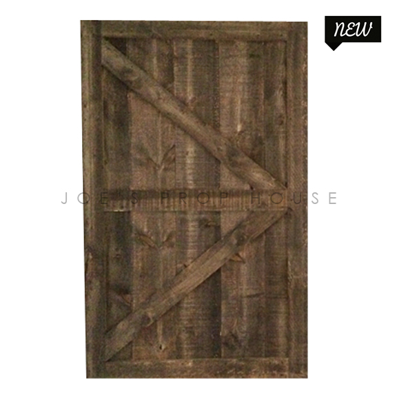 Self-Standing Barn Door Single W5ft x H8ft