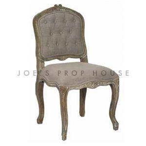 Chaise à Dîner Shabby Antoinette Argile