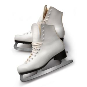 Womens Figure Skates White