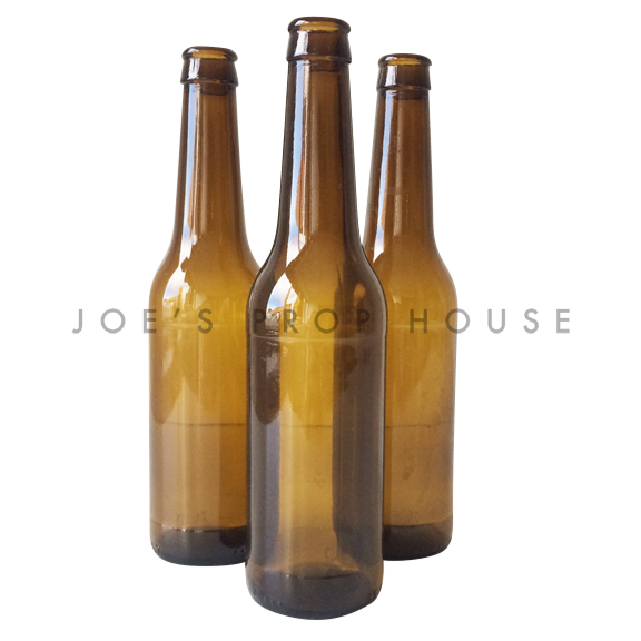 Empty Brown Beer Bottles