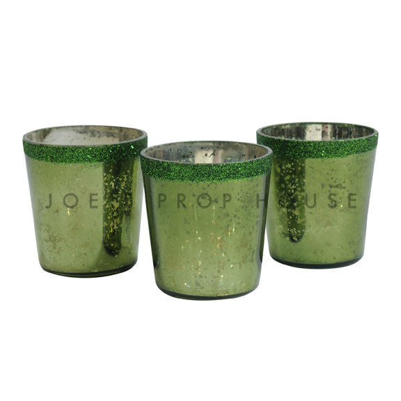 Votive Cups Moss Green