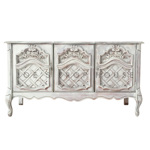 Flora WHITEWASH Sideboard