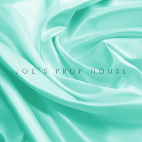 Tiffany Blue Satin Linen