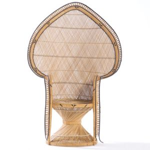 Spade Wicker Chair