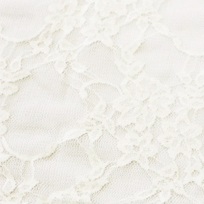 Ivory LACE OVERLAY Tablecloth Round 120in