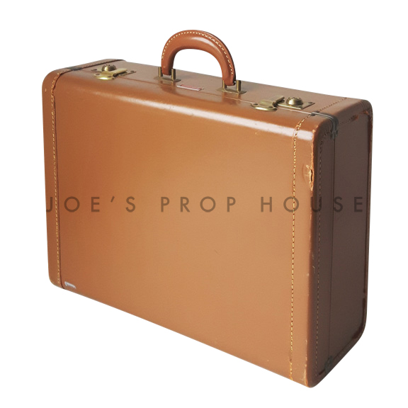 Rosalind Hardshell Suitcase Brown SMALL
