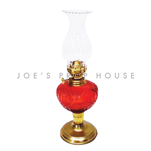 Oil Lamp Lantern Red