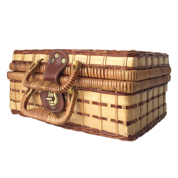 Elaine Wicker Picnic Basket SMALL
