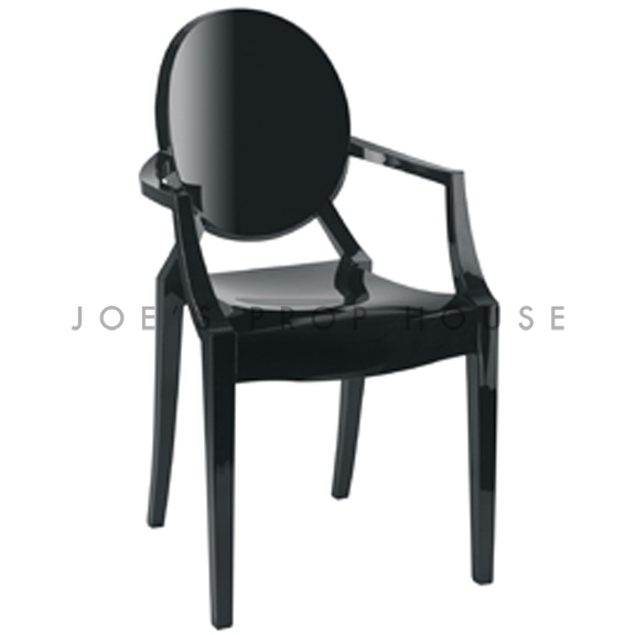 Chaise Ghost Noire